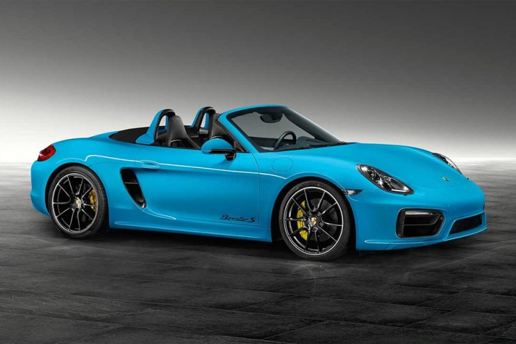 Porsche Exclusive Unveils Boxster S in Riviera Blue