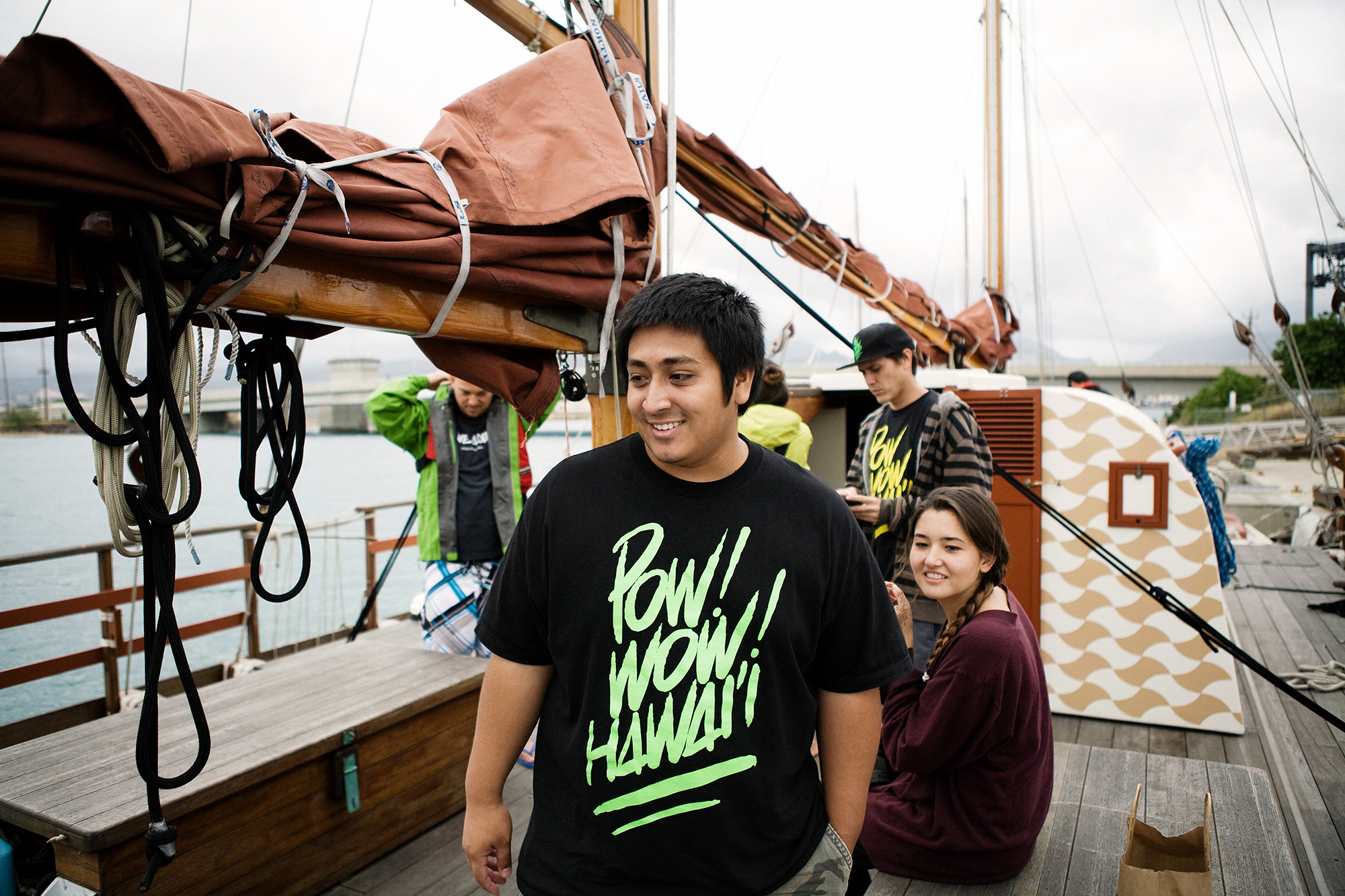 pow wow hawaii x polynesian voyaging society hokulea canoe project