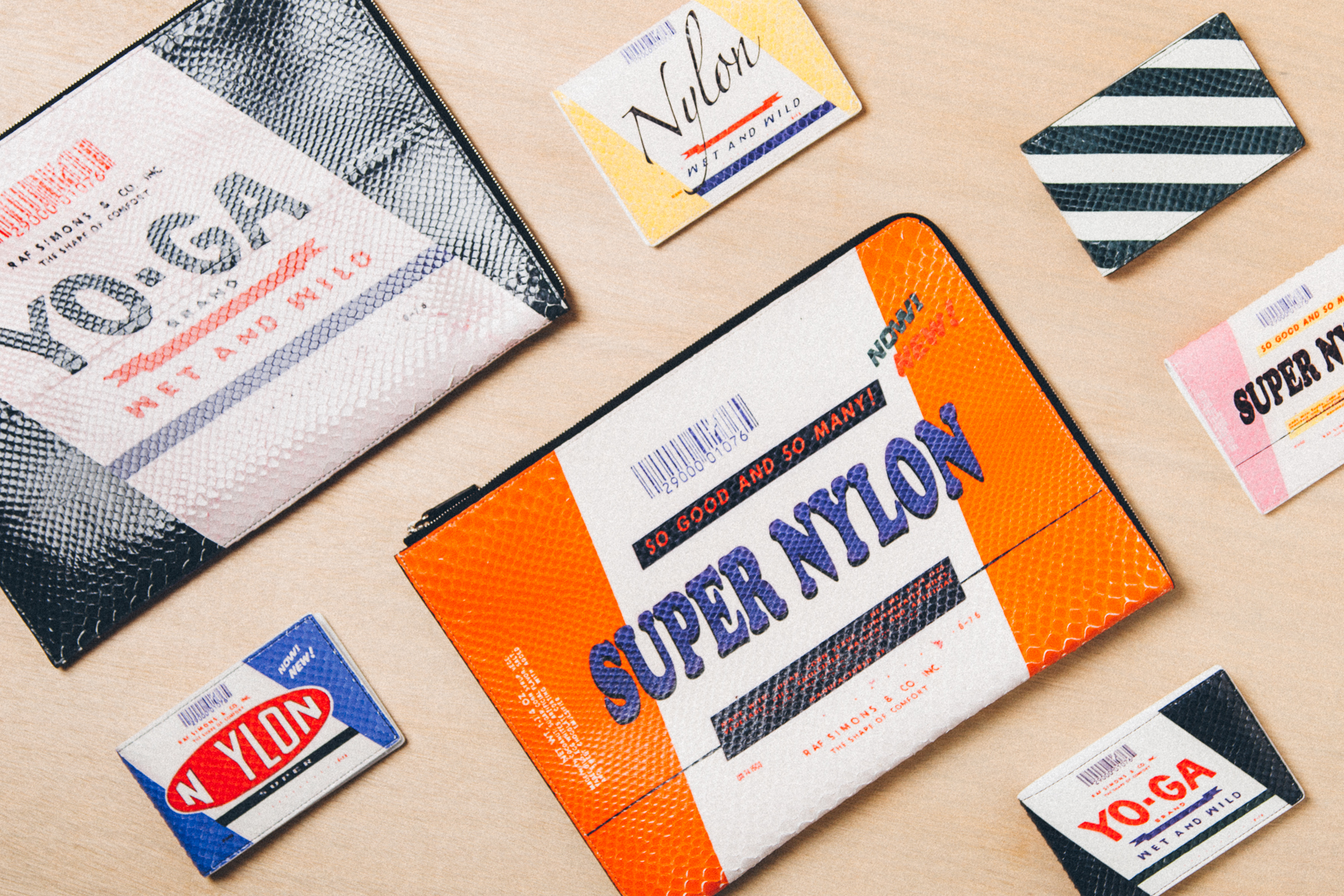 Raf Simons 2014 Spring/Summer Leather Goods Collection