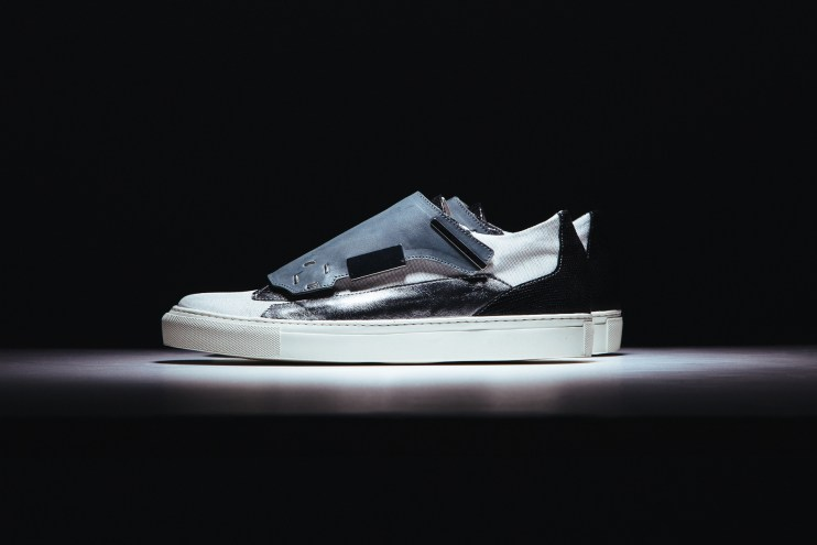 Raf Simons 2014 Spring/Summer Removable Lace Guard Sneaker