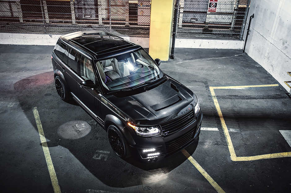 Range Rover Vogue LUMMA CLR-R by SR Auto Group