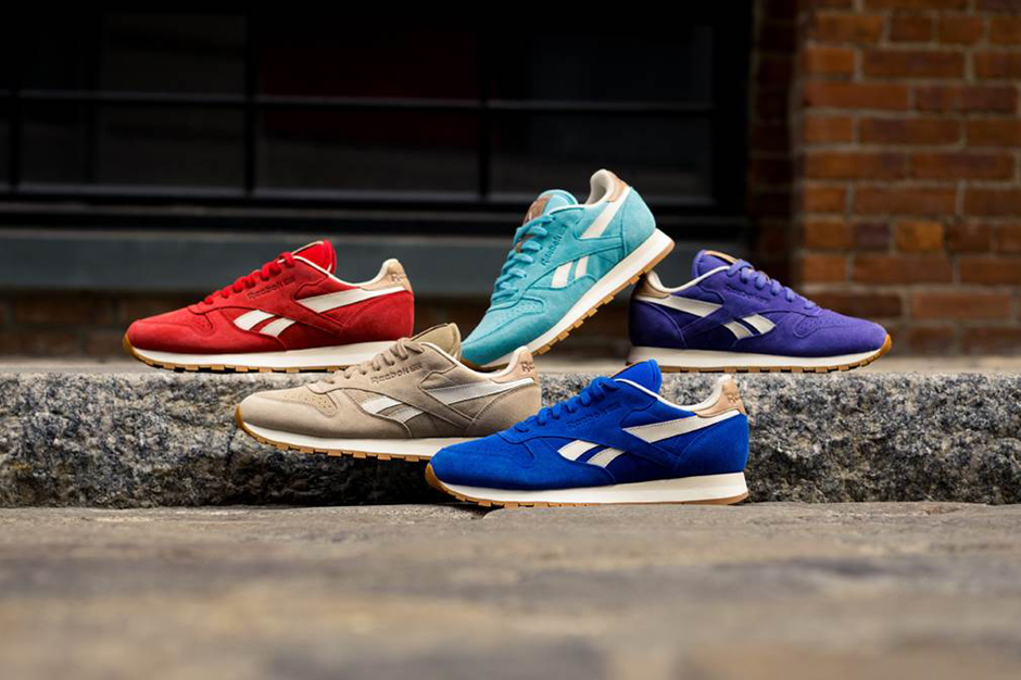 """Reebok 2014 Classic Leather """"Summer Suede"""" Pack"""