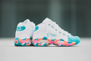 "Reebok Question Mid ""White Noise"""