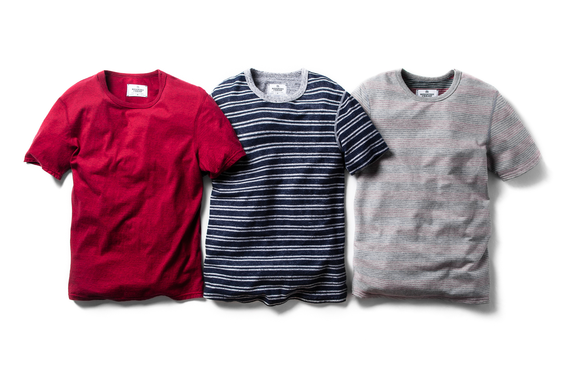 reigning champ 2014 spring summer t shirts