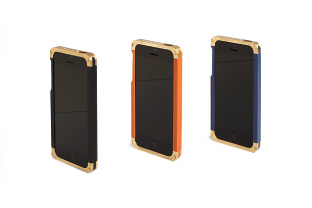 REVISIT Solid Brass iPhone 5/5s Case