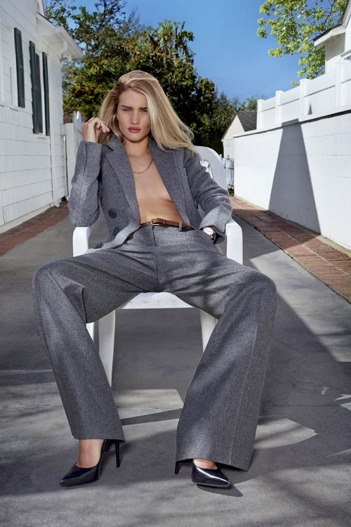 Rosie Huntington-Whiteley for V Magazine Issue 89