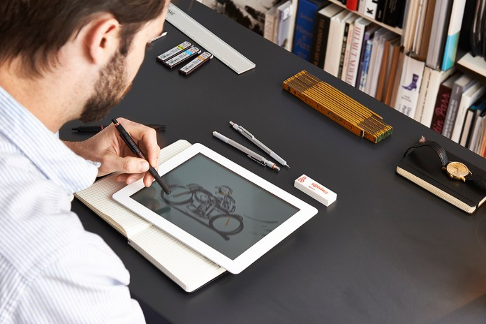 The rOtring 800+ Merges Digital and Analog with Pencil & Stylus Combo