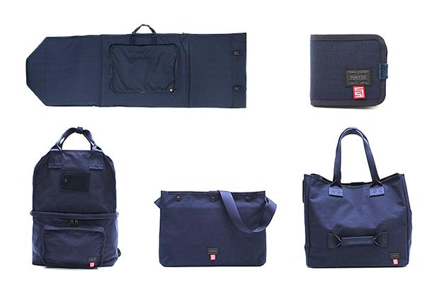 s double x b mark yoshida x porter surf city bag collection