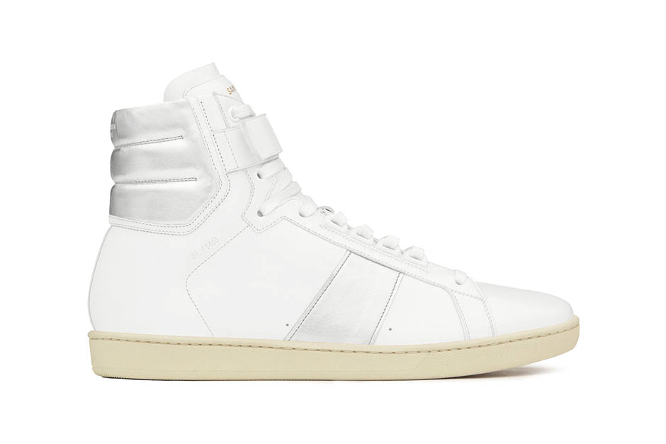 saint laurent 2014 fall winter high top sneaker collection