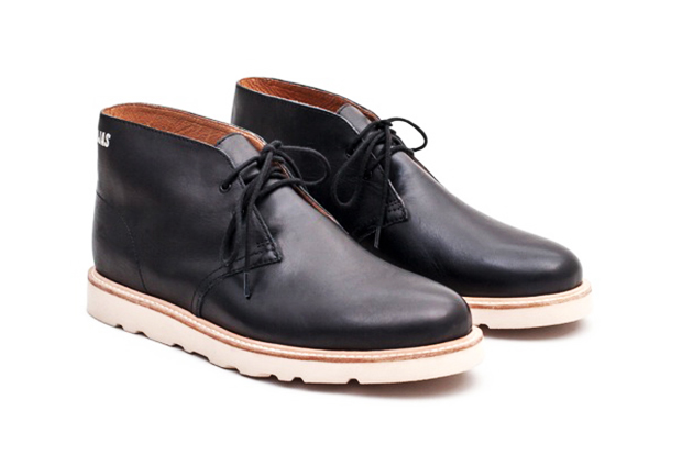 OJAS x Saturdays NYC Leather Desert Boots