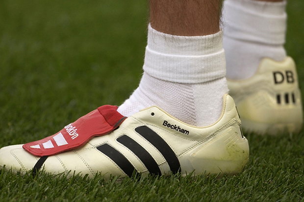Soccer Bible Highlights David Beckham's Best Boots Over the Years