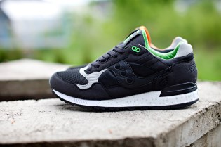 "Solebox x Saucony Shadow 5000 ""Green Lucanid"""