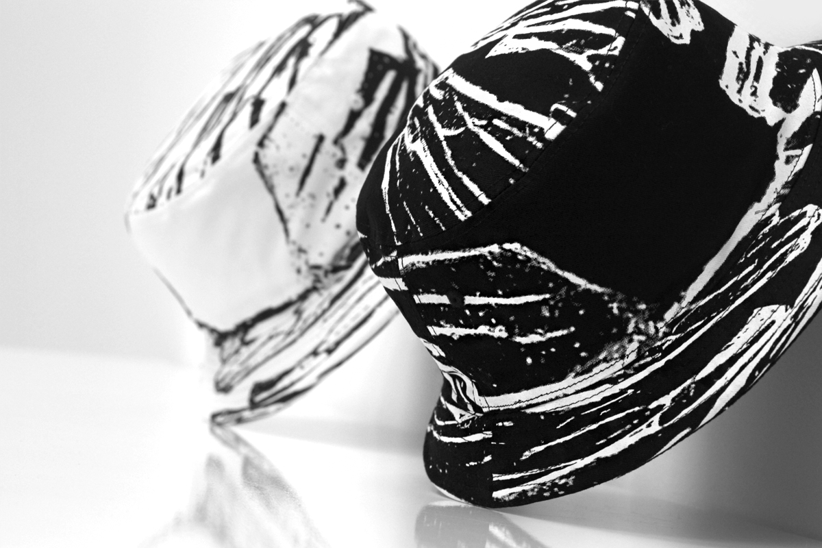 Stampd 2014 Spring/Summer Glass Printed Bucket Hats