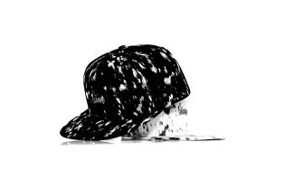 Stampd Calf Hair Printed Hats