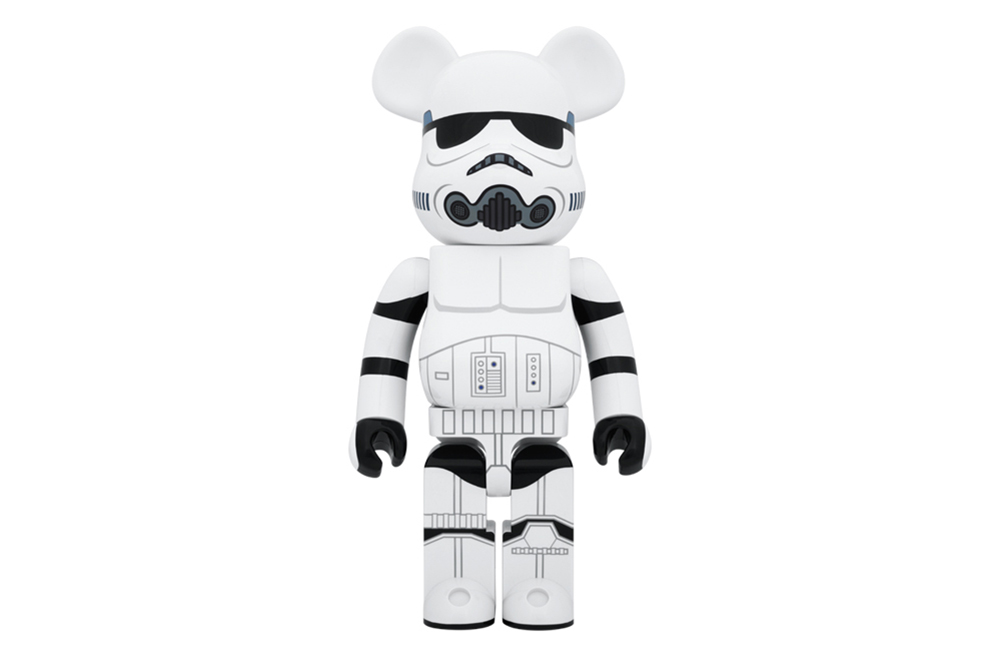 star wars x medicom toy bearbrick 1000 stormtrooper