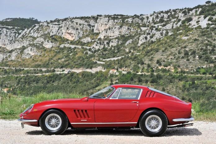 Steve McQueen's 1967 Ferrari 275 GTB/4 for Sale