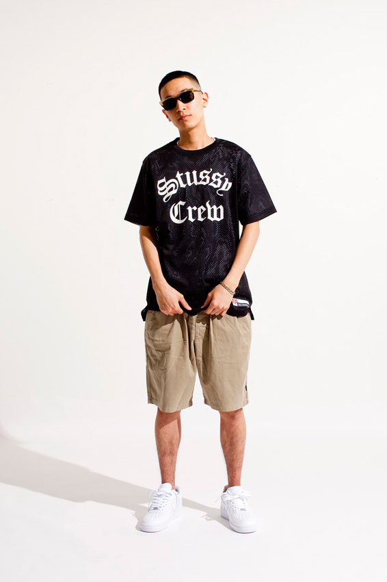 stussy 2014 spring mesh collection