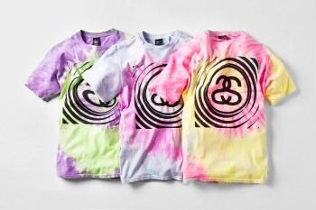 Stussy 2014 Spring/Summer Tie Dye T-Shirts