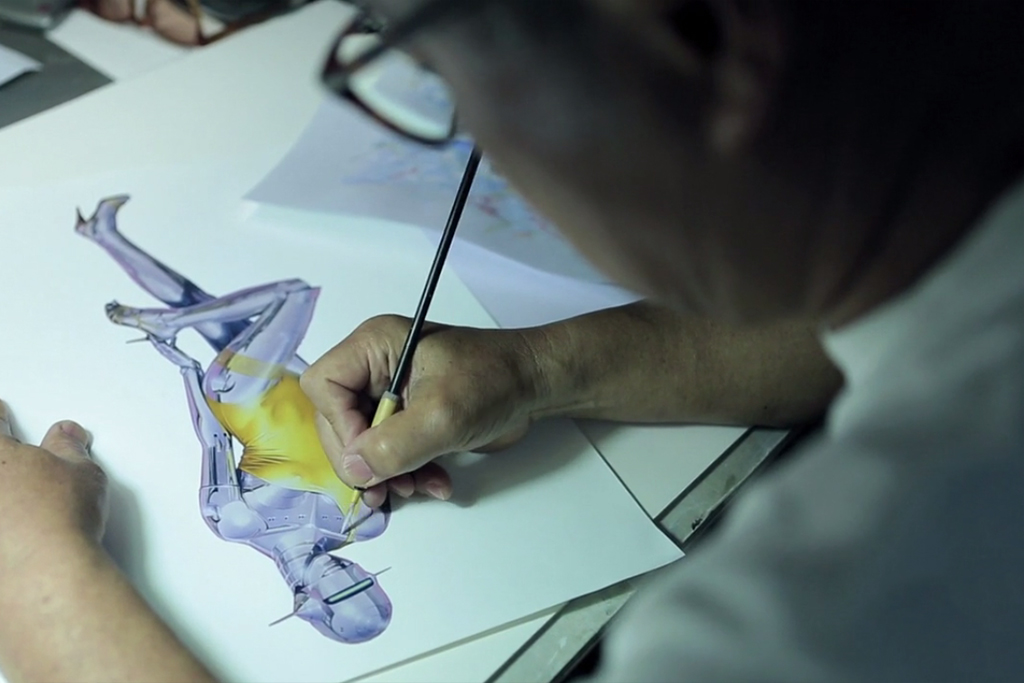 Stussy Link Up with Prolific Japanese Artist  Hajime Sorayama in Their Latest Artist Series