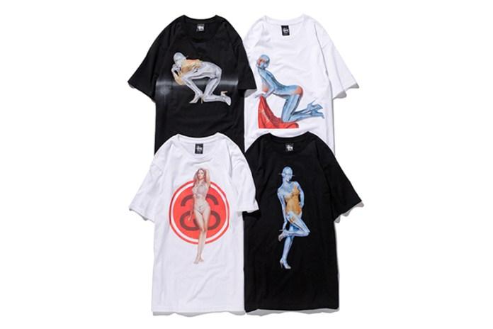 "NANZUKA x Stussy Guest Artist Series ""HAJIME SORAYAMA"" T-Shirts"