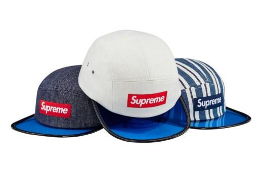 Supreme 2014 Spring/Summer Blue Angler Cap