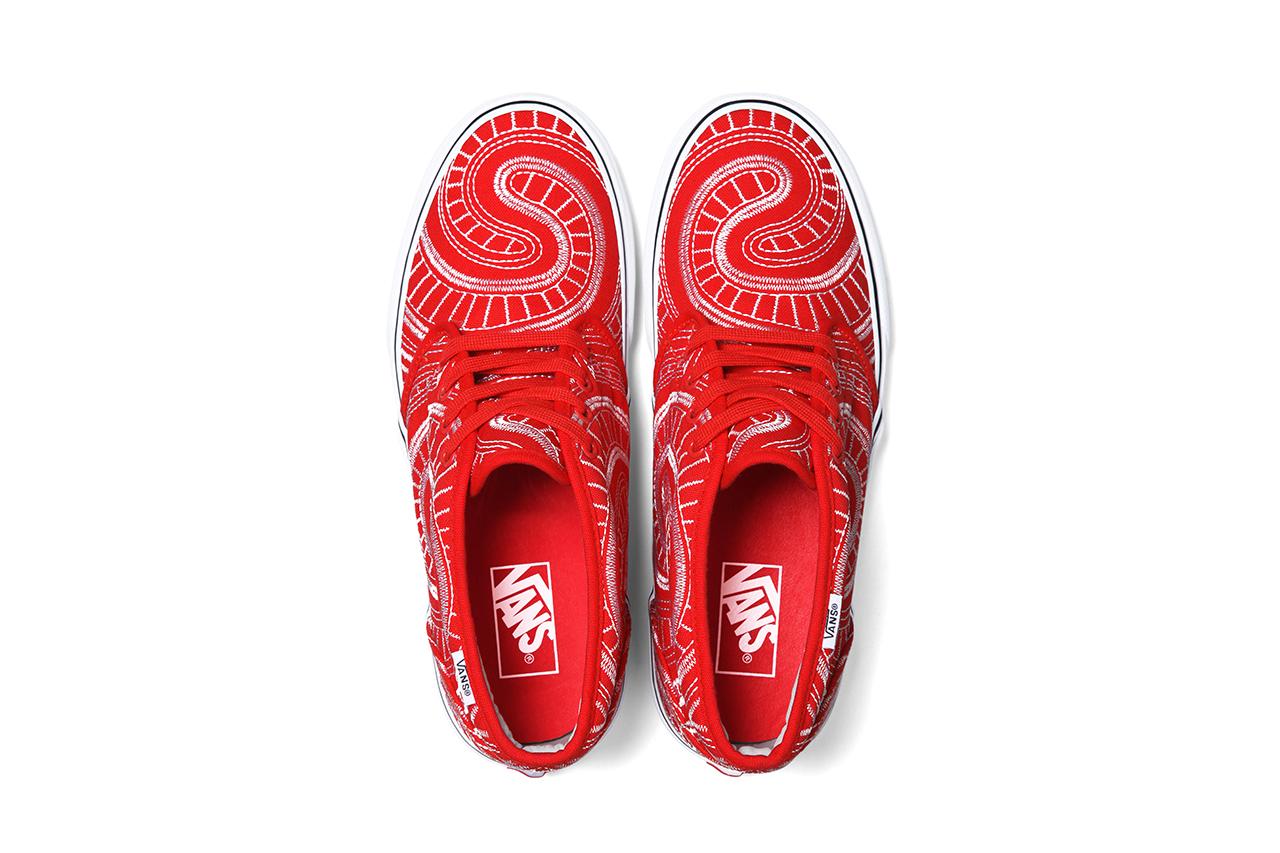 Supreme x Vans 2014 Spring/Summer Collection