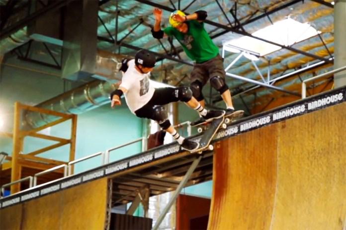 Sync: Tony Hawk 2014 Doubles Video