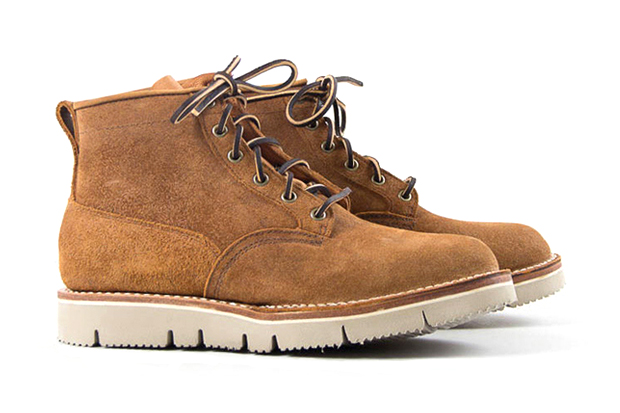 The Bureau Belfast x Viberg Copper Task Rough Out Scout Boot