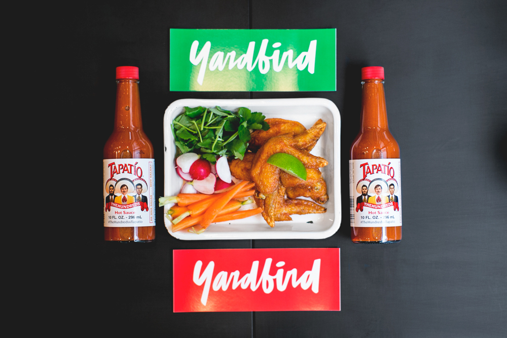 The Hundreds x Tapatio x Yardbird Hot Wings