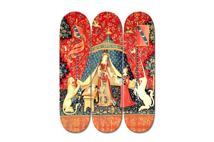"""""""La Dame à la licorne"""" Skateboard Decks by boom-art"""