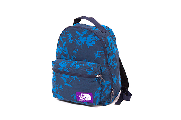the north face purple label 2014 spring summer aloha print bag collection