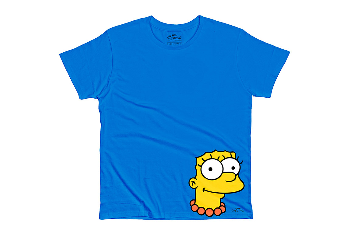 the simpsons x colette x elevenparis 2014 t shirt collection hypebeast. Black Bedroom Furniture Sets. Home Design Ideas