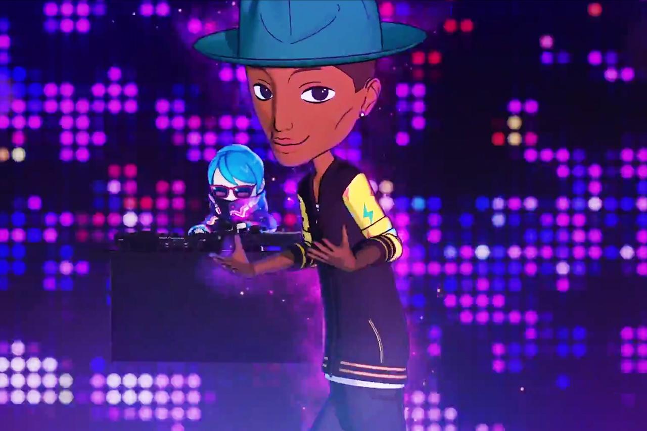 Watch Pharrell's Anime Remix Video for Takashi Murakami's 'JELLYFISH EYES'