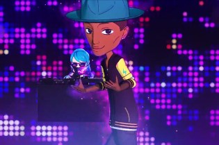 Watch Pharrell's Anime Remix Video for Takashi Murakami's 'JELLYFISH EYES'