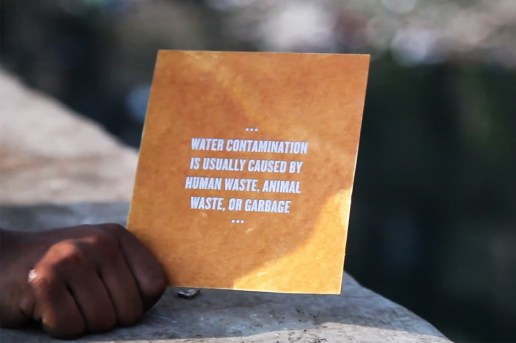 Water is Life - The Drinkable Book