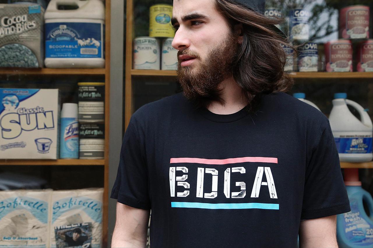 """David Buckley Borden x Bodega """"Wild West at BDGA"""" T-Shirt"""