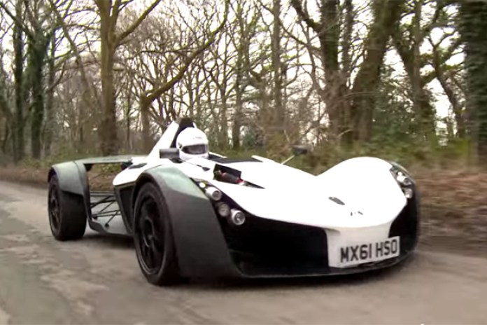 See and Feel What It's Like To Drive a BAC Mono