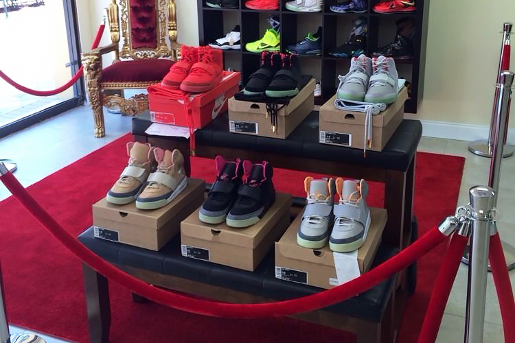 You Can Buy the Entire Nike Air Yeezy Collection for $100K USD