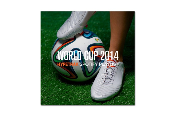 2014 World Cup: HYPETRAK Spotify Playlist
