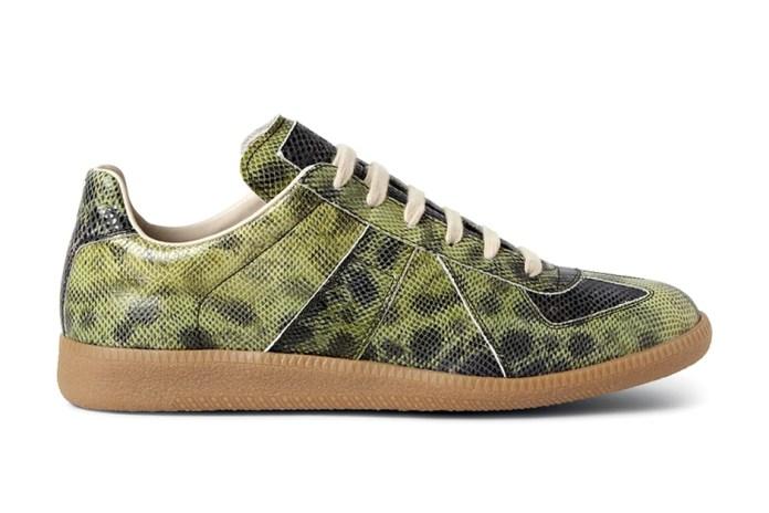 Maison Martin Margiela Embossed Leather Replica Sneakers