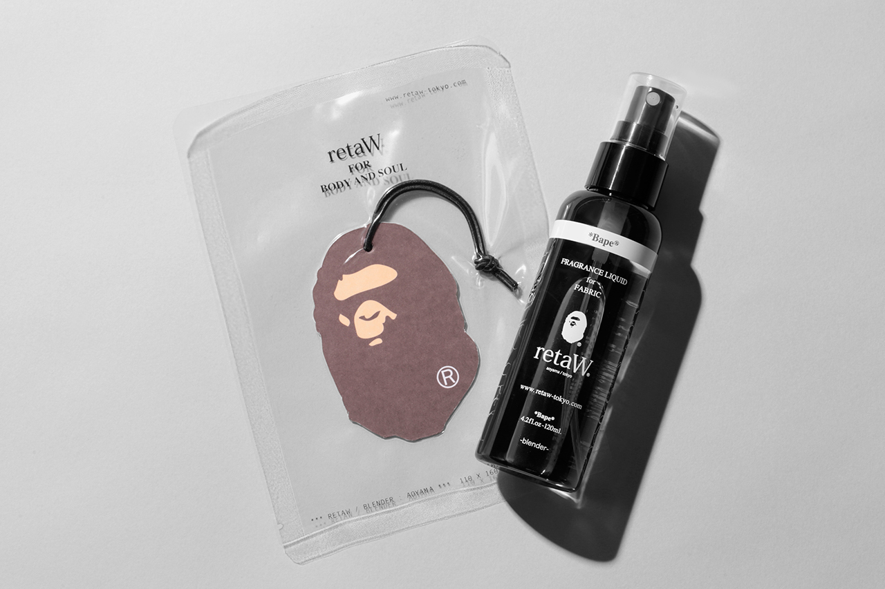 "A Bathing Ape x retaW ""Bape"" Fragrance Collection"