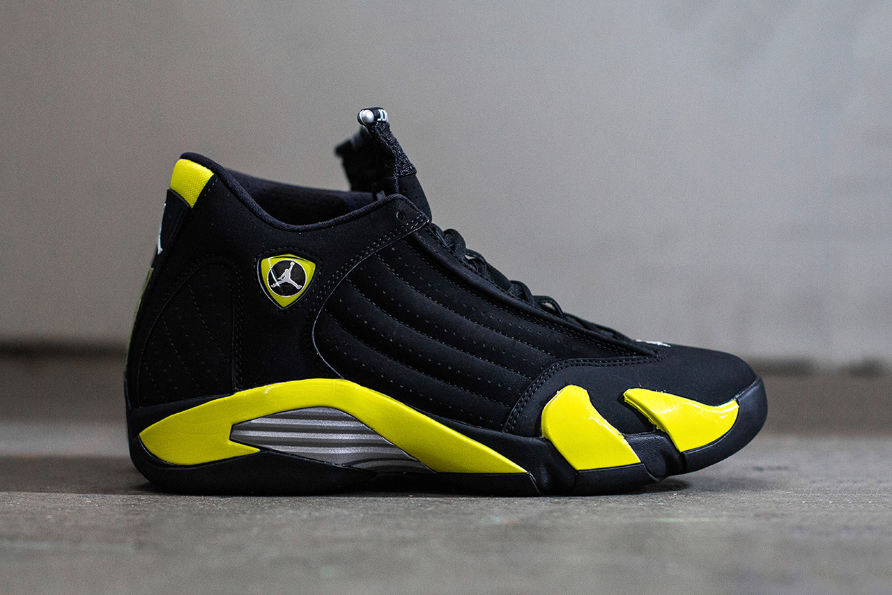 "A Closer Look at the Air Jordan 14 Retro ""Thunder"""