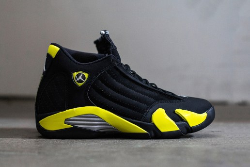 "A Closer Look at the Air Jordan 14 Retro ""Thunder"""