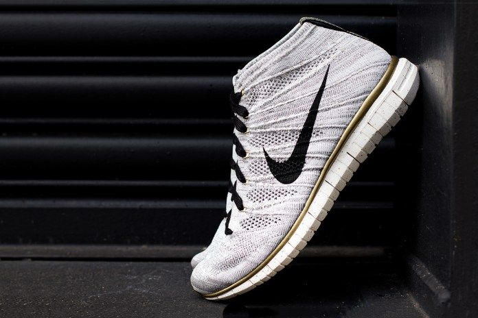 "A Closer Look at the Nike Free Flyknit Chukka ""Gold Hypervenom"""
