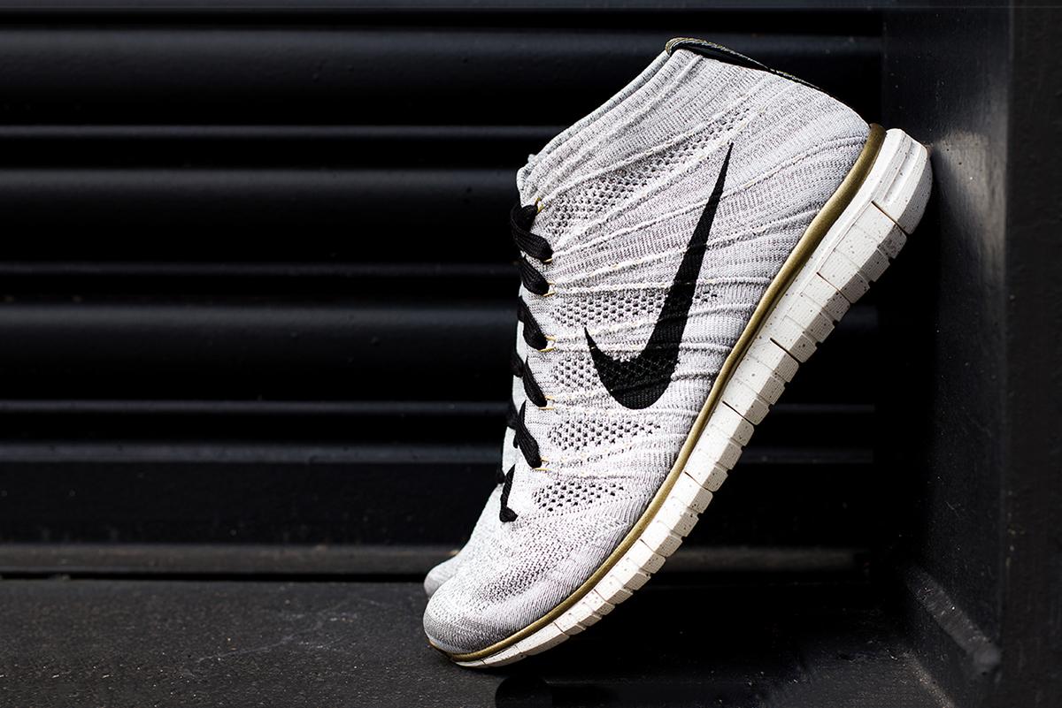 "A Closer Look at the Nike Free Flyknit Chukka ""Gold Hypervenom"""