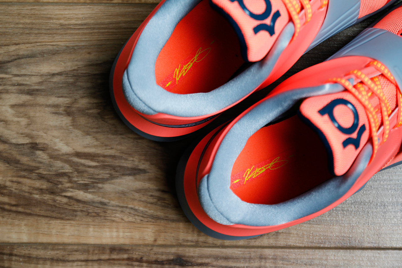 """A Closer Look at the Nike KD7 """"35,000 Degrees"""""""