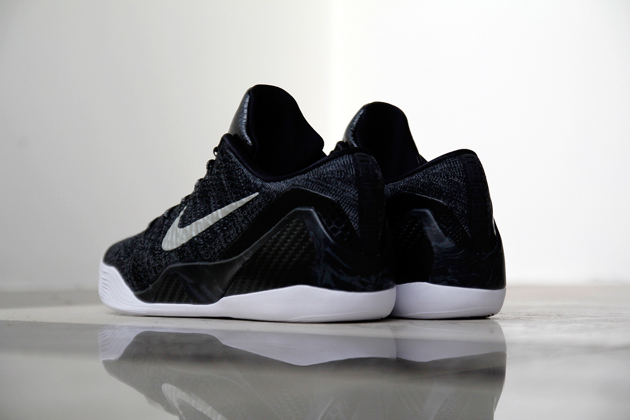a closer look at the nike kobe 9 elite low htm black