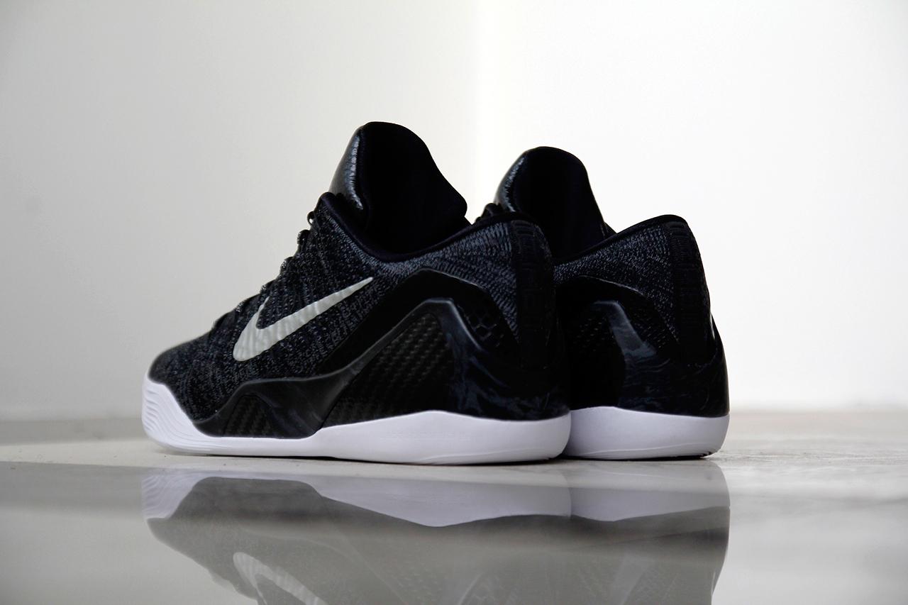 "A Closer Look at the Nike Kobe 9 Elite Low HTM ""Black"""