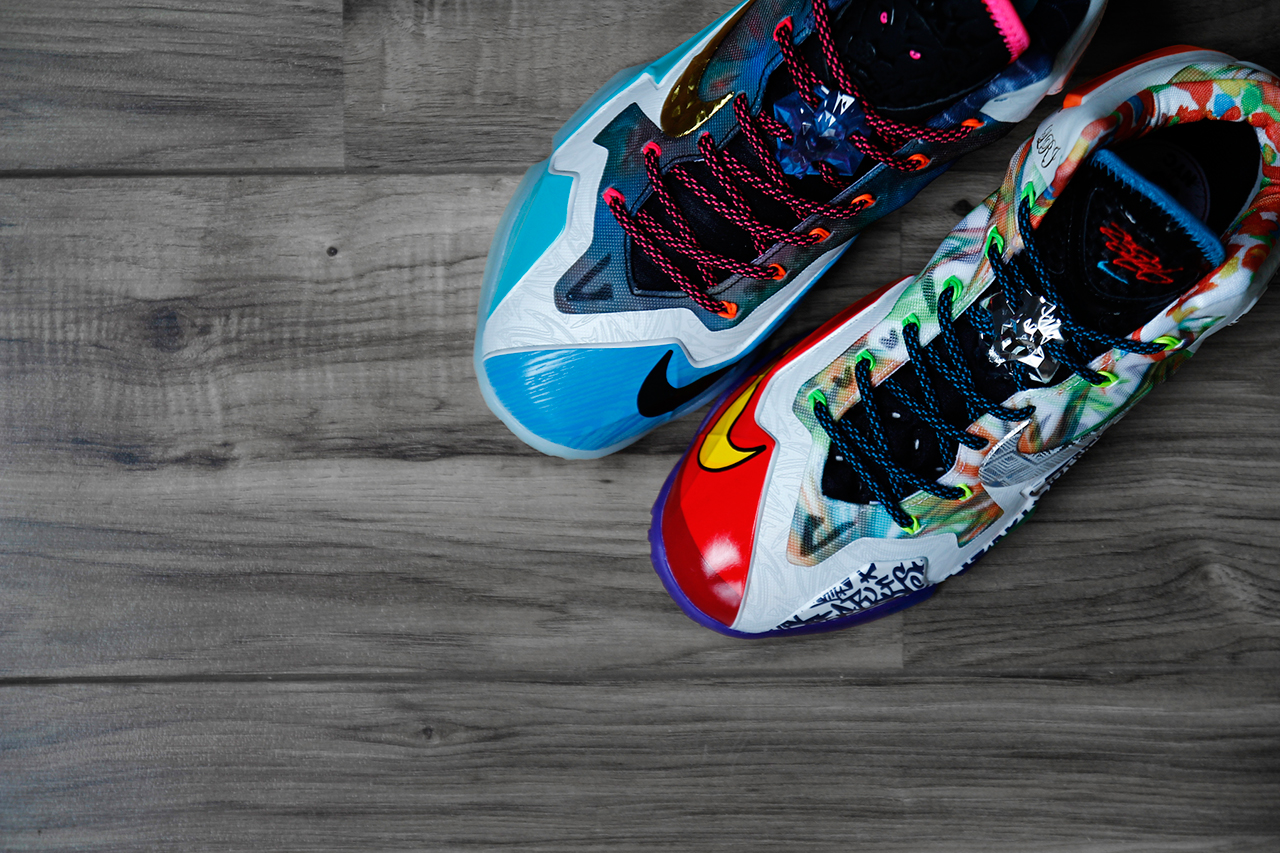 """A Closer Look at the Nike LeBron 11 """"What the LeBron"""""""