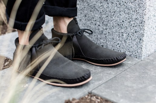 A Closer Look at the wings+horns x Ken Diamond Handmade Moccasin